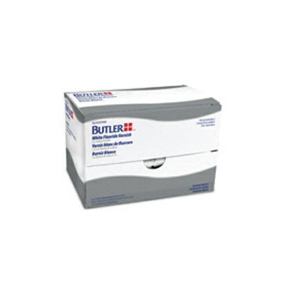 BUTLER White Fluoride Varnish with xylitol