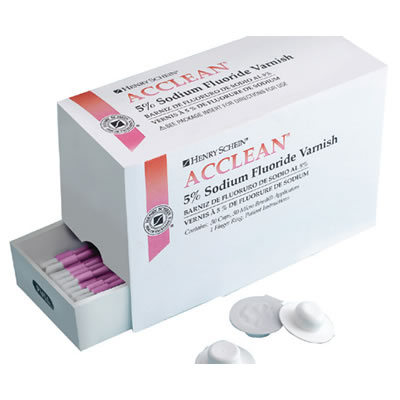 Acclean 5% Sodium Fluoride Varnish