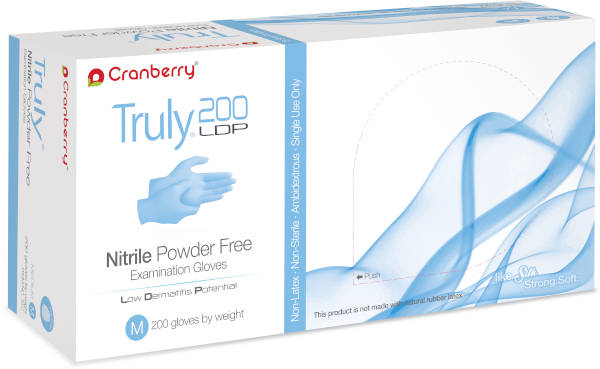 Truly Nitrile Powder-Free Exam Gloves