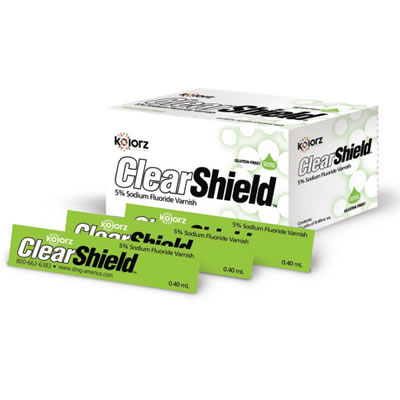 ClearShield Varnish in Bubblegum Flavor