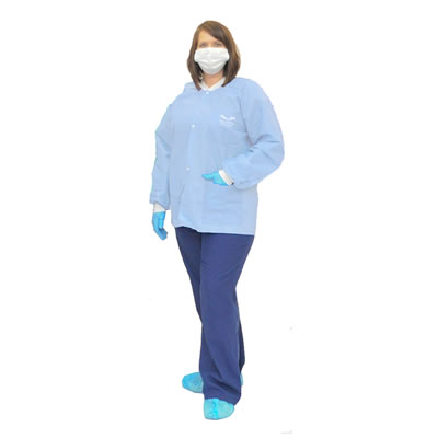 Medflex Armor Antimicrobial Disposable Lab Jackets