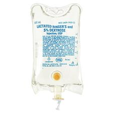 5% Dextrose and Lactated Ringer's Injection, USP- 500 ml, 24/Pkg