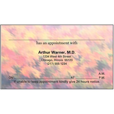 Appointment Card, 3-1/2