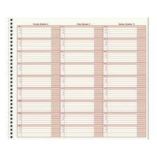 Mid-Size Appointment Plus Appointment Book, 12-1/2
