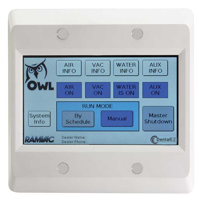 RAMVAC OWL Touch™ - On Wall Logic