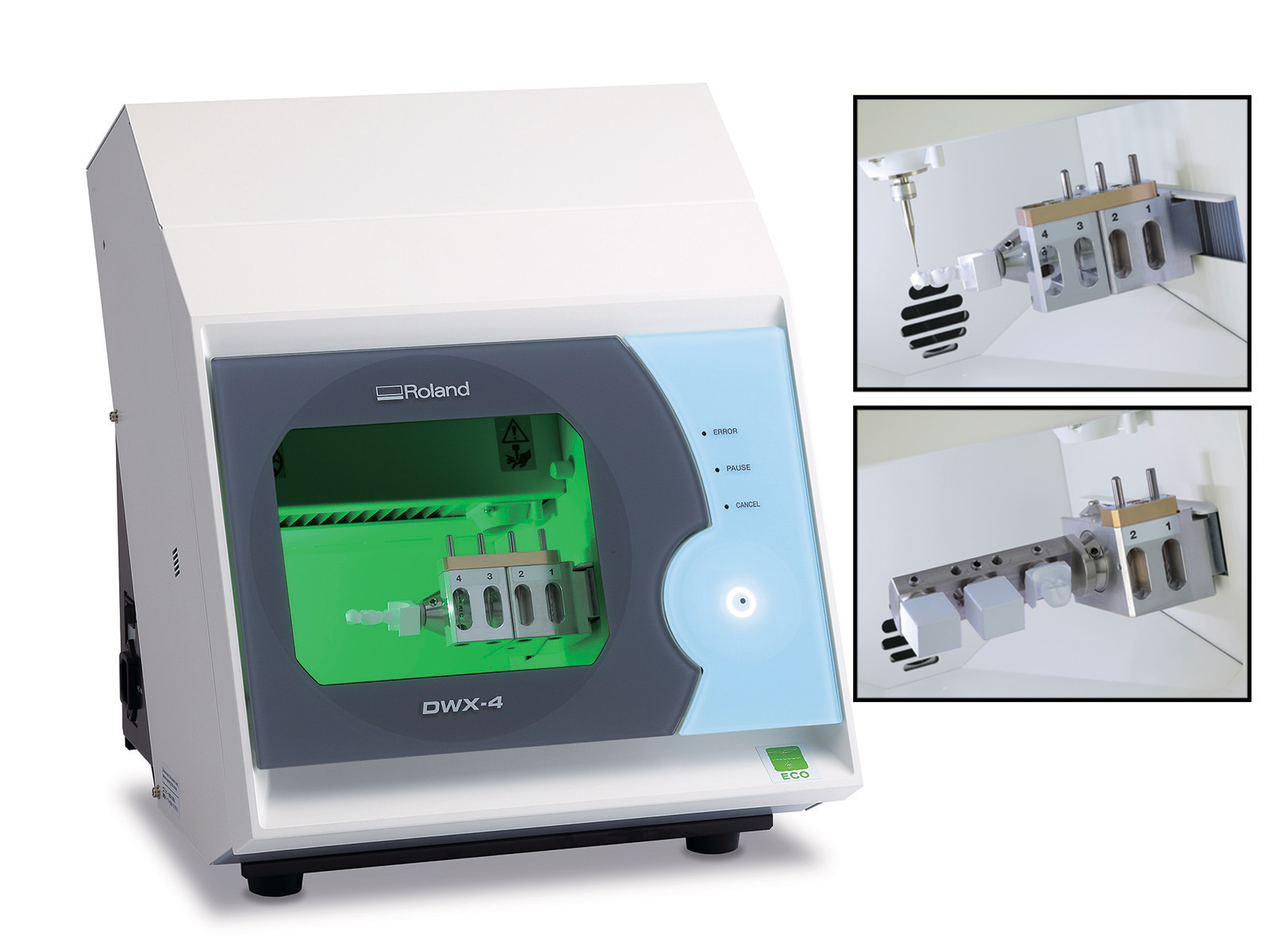 Roland Upgrades DWX-4 Compact Dental Mill
