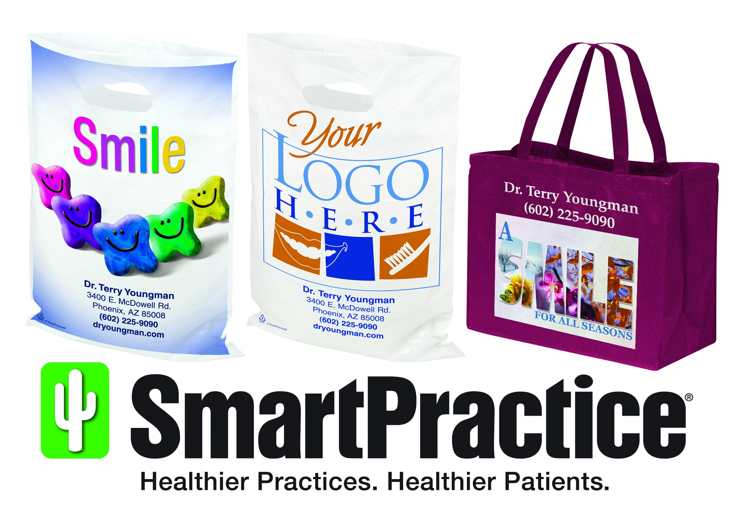 SmartPractice Custom Supply Bags