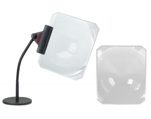Task-Vision Fresnel Lens Page Magnifier and Stand